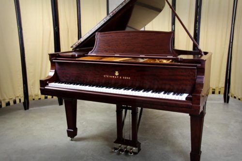 Steinway & Sons Model A Grand Piano, Vintage 1914 Mahogany