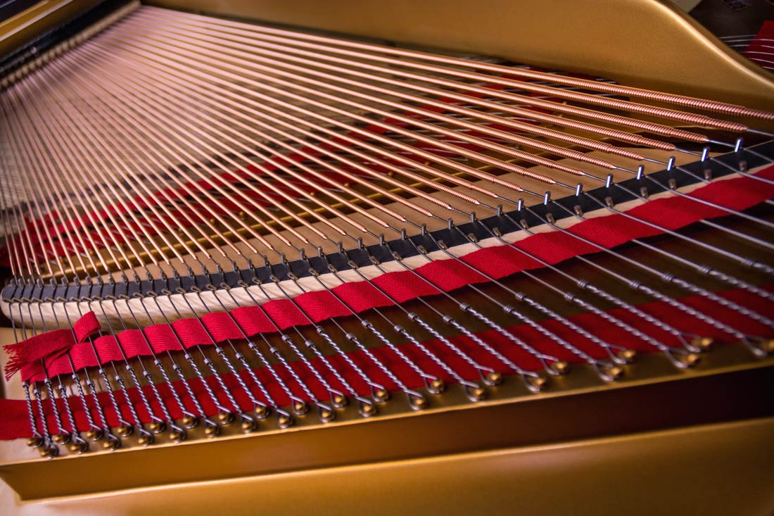Piano Strings Parts Of A Steinway Piano Restoration
