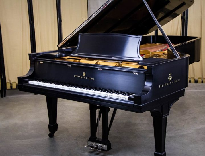 Restored Steinway Model D 9′ Concert Grand Piano #233201