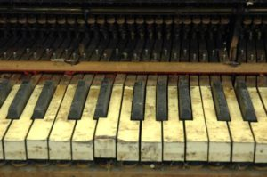 Old Piano Keys | Broken Keytops