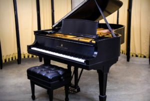 Steinway & Sons Model A-III Grand Piano in Satin Ebony - Fully Rebuilt Steinway Model A3