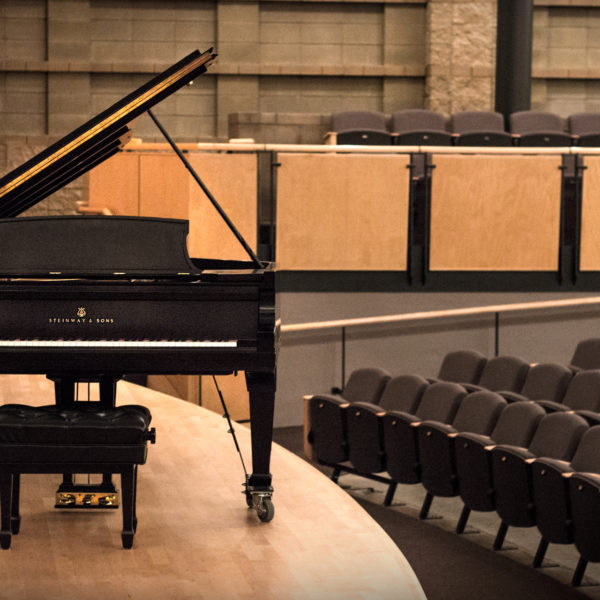 Steinway Model D Grand Piano restored by Chupp's Piano Service - Goshen College Music Department