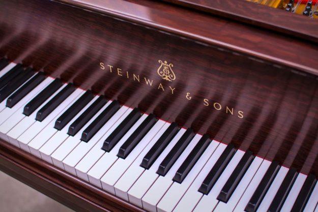 Steinway A3 Grand Piano - Name Board/Fall Board Logo