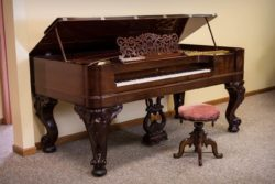 Steinway Square Grand Piano - Rosewood - Restored