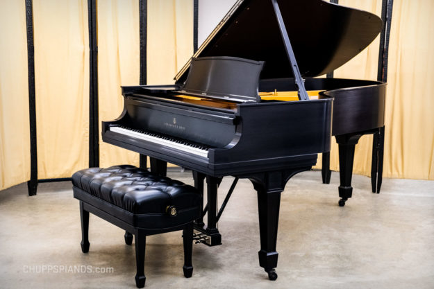 1925 Steinway & Sons Model B Grand Piano #237578 - Fully Rebuilt, Satin Ebony Cabinet - Refinished, Restored Steinways for Sale
