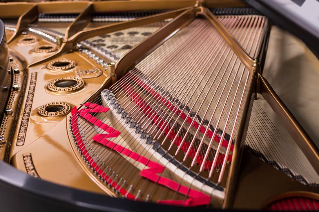 Steinway Model B - Piano Strings - Copper Bass Strings