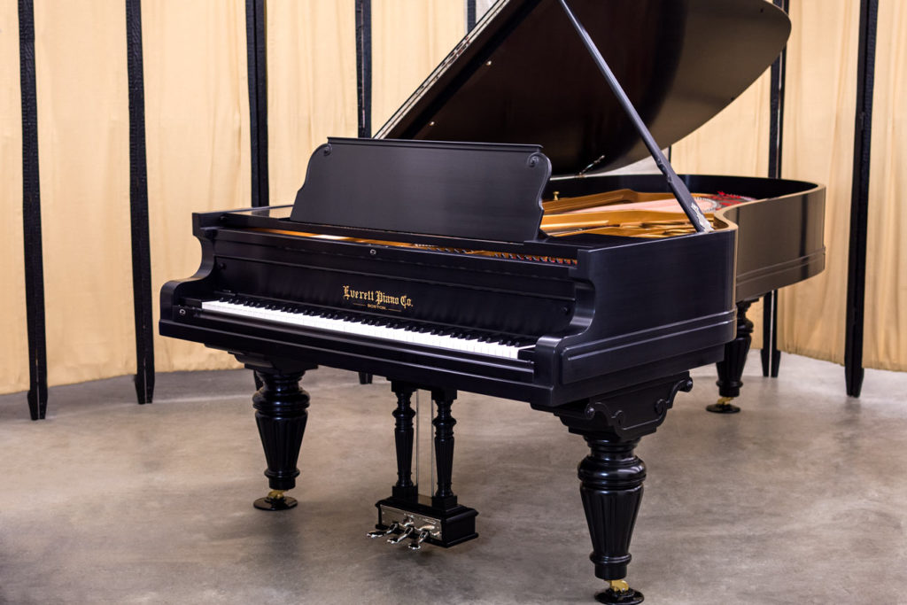 Everett Concert Grand Piano #284 - Rare, Fully Restored Nine Foot Grand Piano - Chupp's Piano Service & Restorations