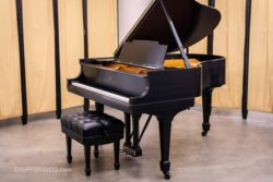 1926 Steinway & Sons Model M Grand Piano #247097 - Satin Ebony - Fully Restored by Chupp's Pianos