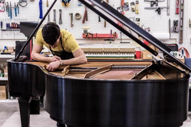 Restoring your Prized Grand Piano - Piano Restoration and Rebuilding Service since 1975