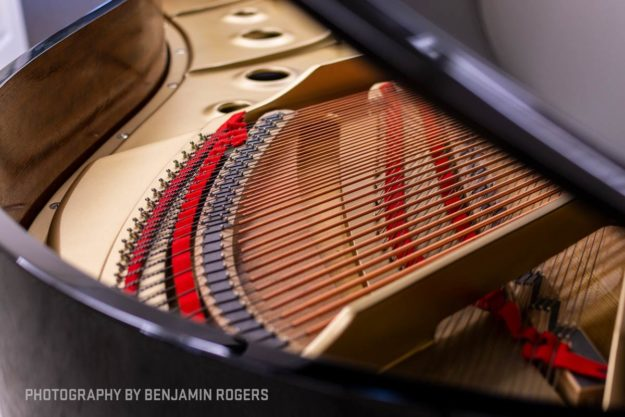 Tail Section of Kawai RX-Series Grand Piano - Authorized Kawai Dealer
