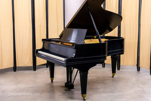 Baldwin Model C,L Grand Piano #61736 - Satin Ebony - For Sale by Chupp's Pianos