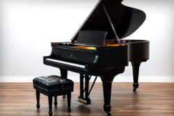 1921 Steinway Model A-III Grand Piano in Satin Ebony - Fully Restored Grand Piano for Sale by Chupp's Pianos