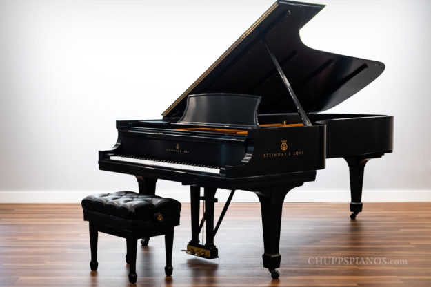 1949 Steinway & Sons Model D Grand Piano - #329504 - Concert Grand Piano - Chupp's Pianos