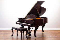 1906 Steinway & Sons Model A-II #123056 - Louis XV Art Case Grand Piano in Mahogany - Fully Restored Vintage Steinway by Chupp's Piano Service