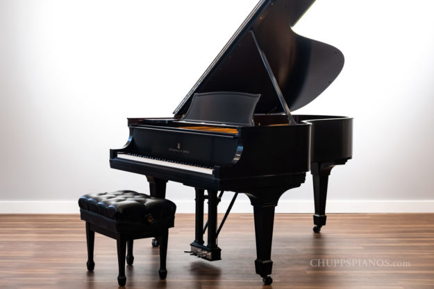 1916 Steinway & Sons Model A-3 Grand Piano - Satin Ebony #183907 - Fully Rebuilt- Restored Vintage Steinway