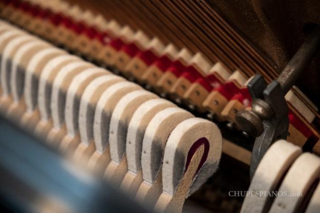 Hammer Heads - Steinway & Sons Model #45 Upright Piano #355219 - Chupp's Piano Service, New Paris, Indiana