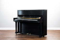 1959 Steinway & Sons Model #45 Upright Piano - Vertical Piano - Satin Ebony Cabinet - Fully Refurbished by Chupp's Pianos of New Paris, Indiana